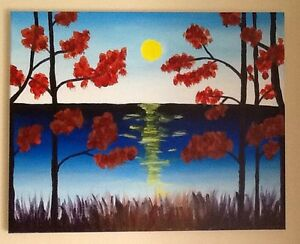 PAINTINGS by local artist $10-$75