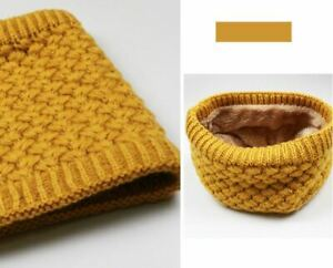 Warm Knitted Ring Scarve, Neck Warmer. One size