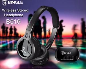 casque  5 en 1 Radio FM pour téléphones TV MP3 audio PC