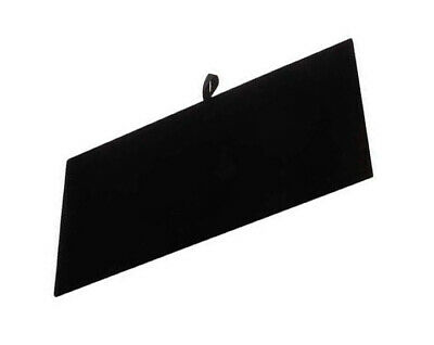 Black Velvet Tray Insert Counter Flat Pad Jewelry Display 14 X 7-12