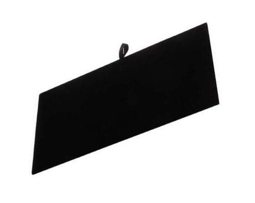 Black Velvet Tray Insert Counter Flat Pad Jewelry Display 14