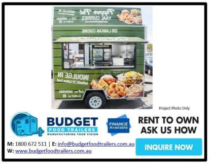 Food Trailer - Single Axle 2.8 - Indian Food Sydney City Inner Sydney Preview