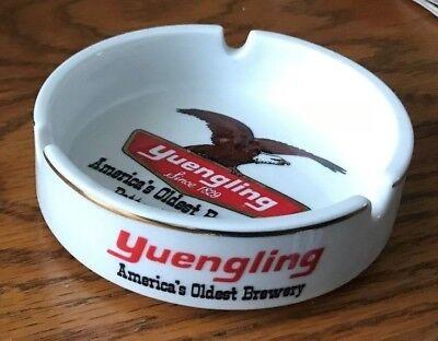 RARE VINTAGE YUENGLING BEER CHINA ADVERTISING ASHTRAY POTTSVILLE PA
