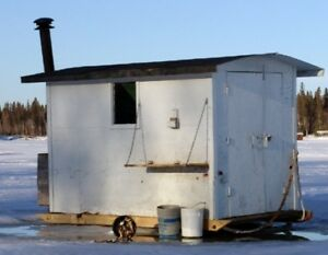 Wanted - old shed / ice fishing shack / etc