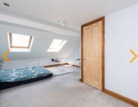 Short term large loft room with own bathroom