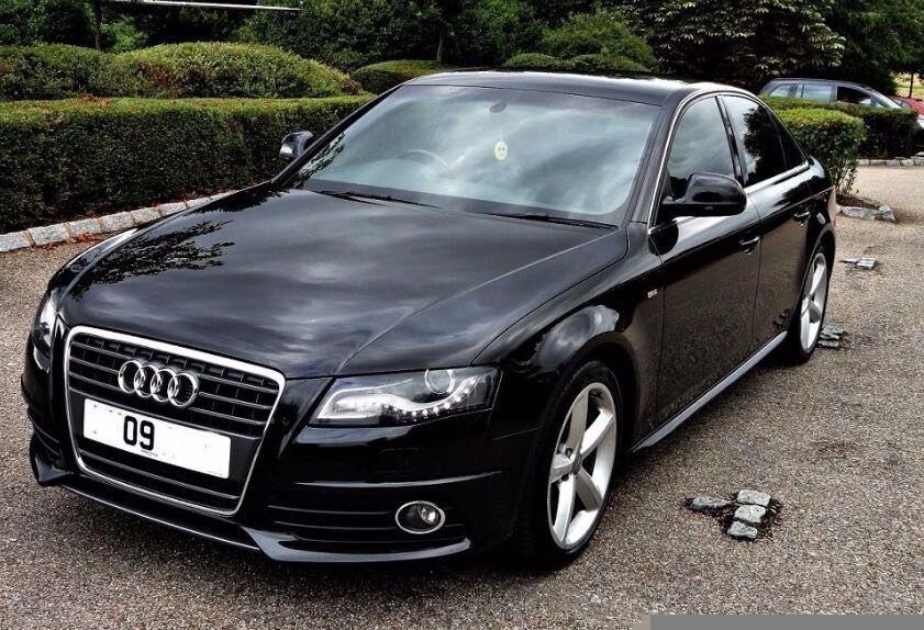 Audi A4 S Line 2 0 Tdi 170ps Saloon 2009 Black In