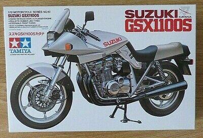 Tamiya 14010: SUZUKI GSX11100S Motorcycle 1:12 Sc Plastic Model Kit. Brand