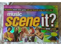 Scene It 'music' DVD and Board Game