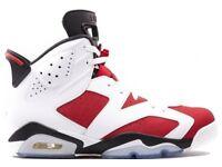 Nike Air Jordan 6 Retro 'Carmine' Size UK 8 10 Brand New