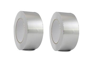 2 Roll Aluminum Foil Tape 2 X 150 With Liner - Malleable Foil - Free Shipping