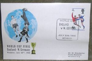 1966 World Cup England First Day Cover Kawartha Lakes Peterborough Area image 1