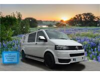 VW T5.1 Transporter swap for 17 seater minibus of similar value ( 11) or motor home with 6 seatbelts
