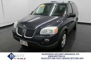 2008 Pontiac Montana SV6 W/1SB AS IS / AS TRADED