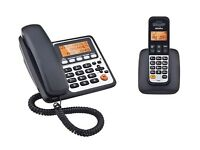 Combo Telephone with Answer machine- Twin, Binatone Concept 3525