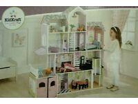 NEW KIDKRAFT WOODEN GRAND ESTATE DOLL HOUSE