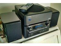 Teac hifi CRH-248 with LS-WH01 speakers