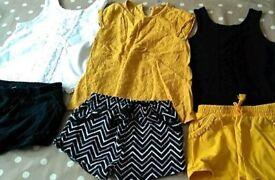 Set of three shorts and tops 3-4 from Tu at Sainsbury's