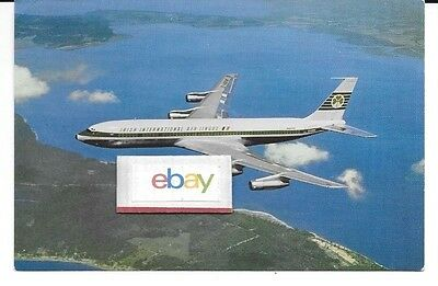 AER LINGUS IRISH INTERNATIONAL AIRLINES BOEING 320C AIRLINE ISSUE POSTCARD