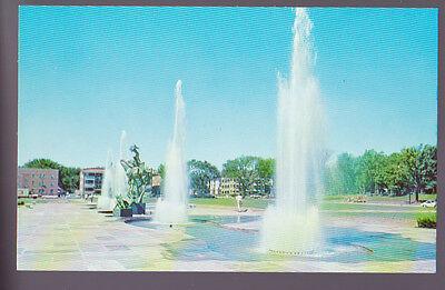 Kansas City Missouri Mo Fountain Of St  Martin Of Tours Old Vintage Postcard