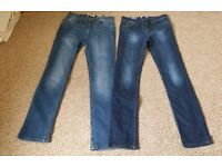 Fat Face Ladies Jeans size 8. Never worn. 2 pairs available.