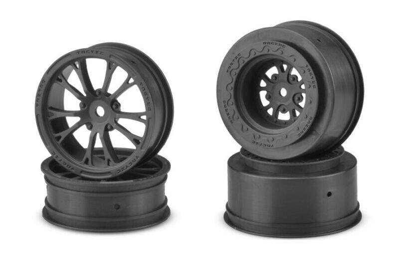 Jconcepts Tactic Set 4 Drag Front Rear Wheels 12mm Hex JCO3400B JCO3399B