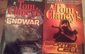 Tom clancy's endwar and splinter cell books