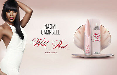 Wild Pearl By Naomi Campbell Women Edt Spray 1 6 Oz 50 Ml Authentic Germany