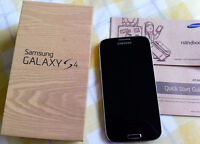 SAMSUNG GALAXY S4 WITH CHARGER AND ORIGINAL BOX - BELL/VIRGIN