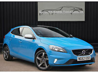 2013 Volvo V40 2.0 D3 R - Design Diesel 150bhp Nav + Panoramic Glass Roof+VAT Q