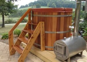 Canada's Finest Wooden Hot Tubs Made in Winnipeg for under $4000