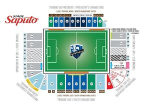 Montreal Impact vs NYFC - 2 billets tickets UNDER COST