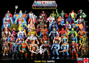 Masters of the Universe Classics Figure Collection