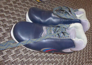 2 pairs cross country ski boots, US 5 and 7 SNS profile $ 15pair