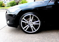 20 IN LUXURY CHROME RIMS & TIRES! - MUST SEE!