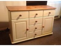 Painted Pine Dresser - Perfect for a Shabby chick project