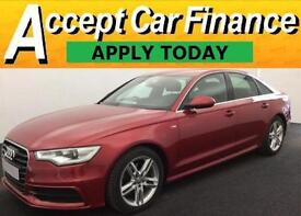 Audi A6 Saloon 2.0TDI ( 177ps ) ( C7 ) 2012MY S Line FROM £74 PER WEEK !