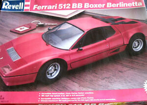 Revell 1/16 Ferrari 512 BB Boxer Berlinetta Plastic Model Kit