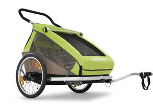 Croozer Kid for 2 Bike Trailer lightly used bicycle trailer