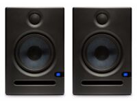 Presonus Eris E5 (Pair) Studio Monitors * New / Bluetooth / XLR