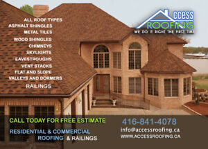 ROOFING. FREE ESTIMATE.