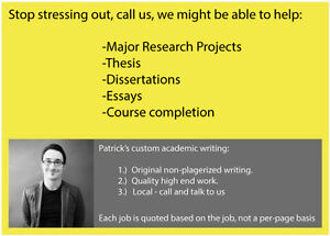 Academic Writing: Original quality work. Call or text us. West Island Greater Montréal image 1