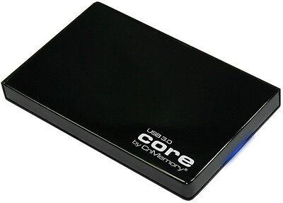 CnMemory Leergehäuse HDD Festplatte Gehäuse Core 2,5 Zoll USB 3.0 schwarz