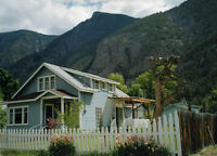 3 Bedroom 105 Year Old Character House for Rent in Hedley BC.