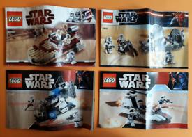 Lego Star Wars Bundle Job Lot 100% Complete