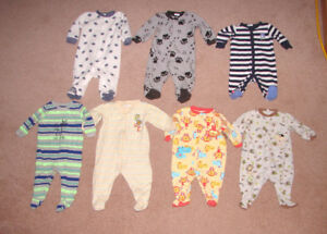 Sleepers and Clothes - 0-3, 3, 3-6, 6, 6-12, 12, 12-18 months