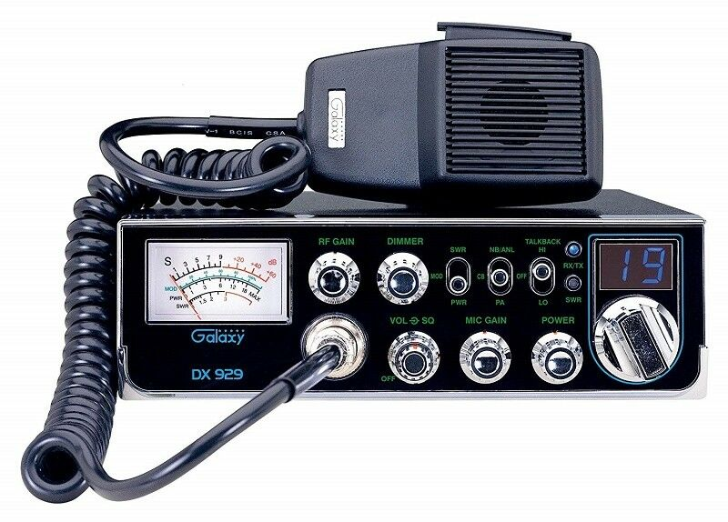 GALAXY DX929 40 CHANNEL SMALLER CHASSIS 40 CHANNEL CB RADIO