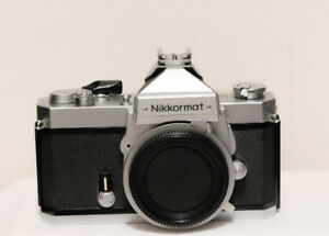 Nikon Nikkormat Film camera body