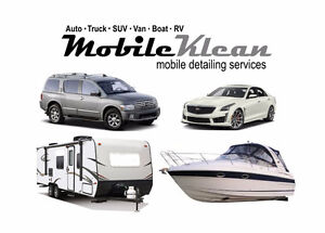 Mobile Klean .. mobile detailing / cleaning services