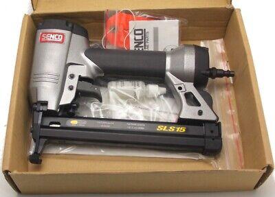 Senco Sls15 12 To 1 Inch 18 Gauge Finish Stapler Air Pneumatic New Open Box
