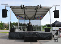 Affordable, Professional Mobile Stage Rentals